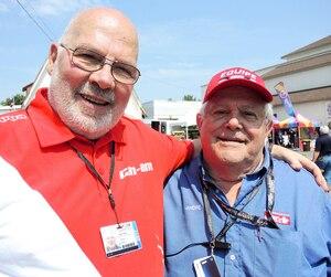 Marc Cantin et André Gervais ont participé au premier Grand Prix de Trois-Rivières, présenté en 1967.