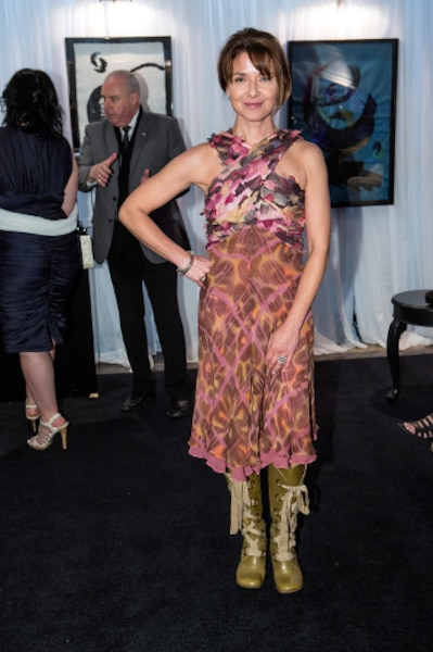 Isabel Richer a participé à la 16ème édition du bal annuel de la Fondation des Gouverneurs de l'espoir.