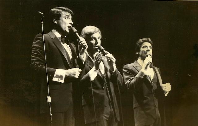 Michel Louvain, Pierre Lalonde et Donald Lautrec.