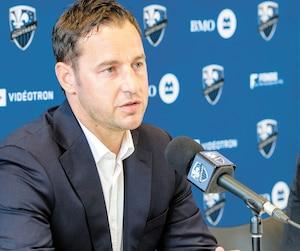 Le directeur sportif Olivier Renard et le président de l'Impact Kevin Gilmore ne chômeront pas au cours des prochains mois.