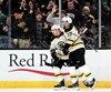 Brad Marchand et Patrice Bergeron forment un duo redoutable chez les Bruins.