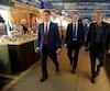 Les conseillers municipaux Jean-François Gosselin, Jean Rousseau et Stevens Mélançon
