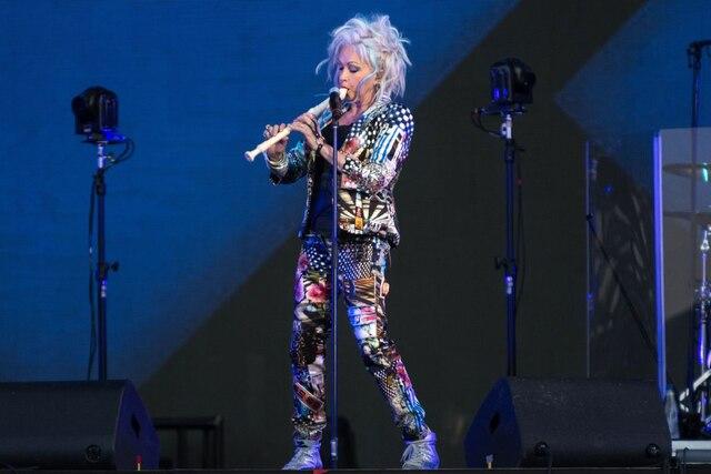 Cyndi Lauper a donné tout un spectacle sur les plaines d'Abraham!