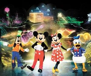 Le spectacle <i>L'expédition de Mickey</i> présenté par Disney.