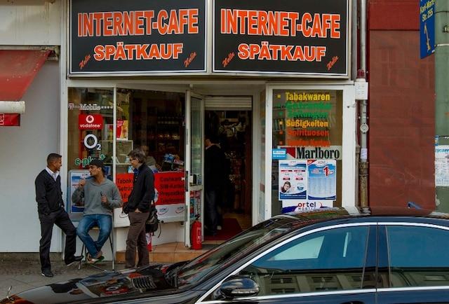 Café internet à Berlin en Allemagne