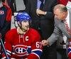 Michel Therrien réfute les allégations voulant qu'il a qualifié Max Pacioretty de pire capitaine de l'histoire du CH.