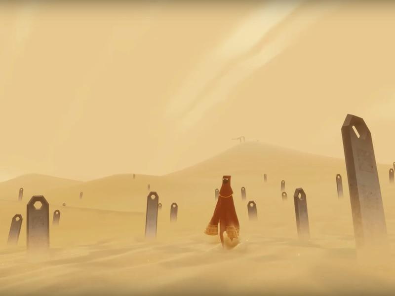 Image principale de l'article Journey est maintenant jouable sur iOS