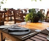 Bloc restaurant terrasse