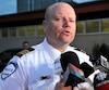 Ian Lafrenière avait été retiré de ses fonctions au serivce des communications de la police de Montréal pour des raisons qui étaient restées nébuleuses.