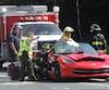 L'un des passagers serait sérieusement blessé, selon les informations obtenues.
