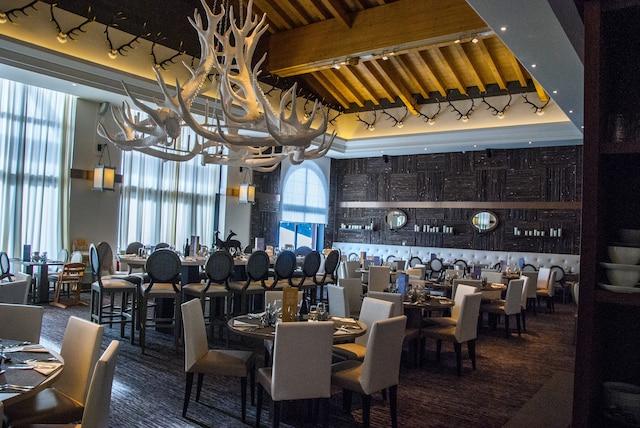 La salle à manger spacieuse du Club Med Valmorel.