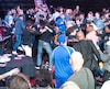 Une bagarre a éclaté au parterre du Centre Bell après le combat opposant Brandon Cook et Steven Butler samedi soir dernier.