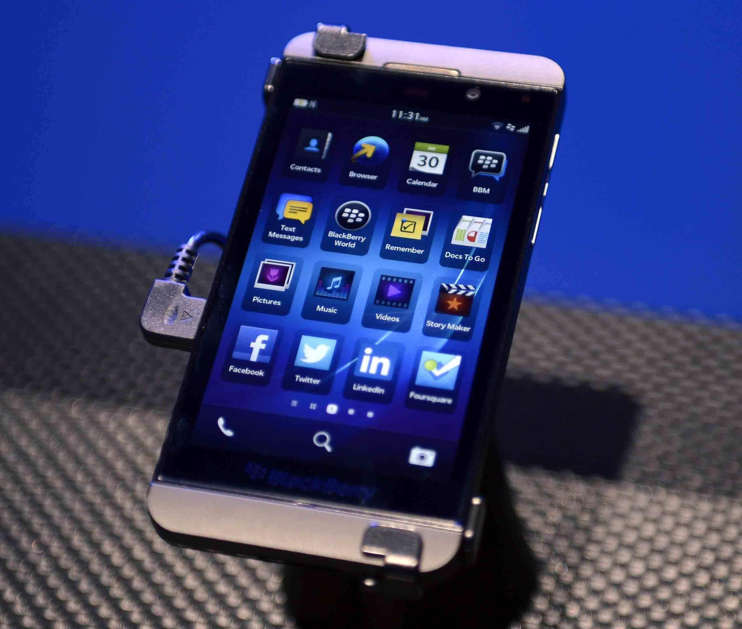 Anleitung blackberry 10