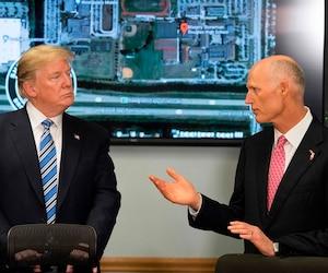 Donald Trump et Rick Scott