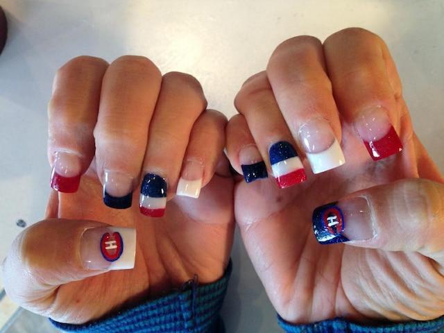 Les ongles de Valérie Lafortune
