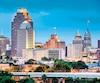 La ville de San Antonio.