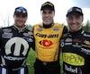 Les pilotes québécois Andrew Ranger, Alex Labbé et Pier-Luc Ouellette ont monopolisé les trois premières places sur la grille de départ.