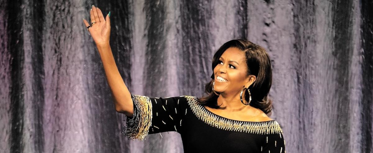 Michelle Obama s'amène en ville