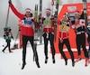 Ce podium a une double valeur dans l'histoire du ski de fond canadien. Alex Harvey devient le premier à aligner trois médailles en autant d'épreuves consécutives en Coupe du monde. De plus, il s'agit d'un premier podium masculin dans une épreuve de relais à quatre athlètes après qu'un quatuor féminin eut également terminé troisième à Canmore en 1987.