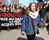 Naomie Tremblay Trudeau, Manifestation etudiants ville de quebec