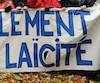Plusieurs milliers de personnes se sont donné rendez-vous au centre-ville de Montréal, le samedi 26 octobre en milieu de journée, afin de participer à une marche en appui à la charte des valeurs québécoises, sous la bénédiction des «Janette». JEAN-MARC GILBERT/AGENCE QMI