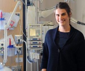 Marie-Claude Prud'homme-Lemaire ne dit jamais non à un café ou à un dîner avec des familles qu'elle a côtoyées lors du processus de don d'organes.