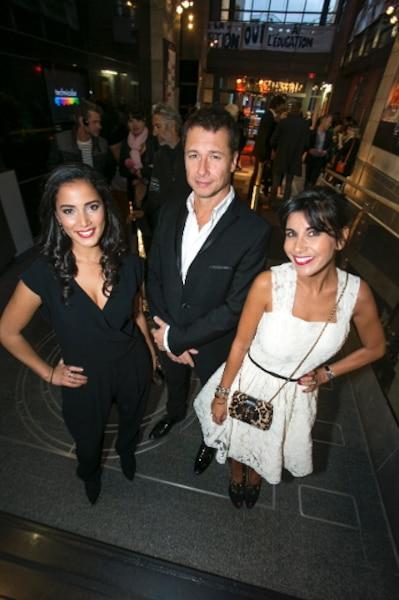 Reem Kherici, Stéphane Rousseau et Nadia Kounda