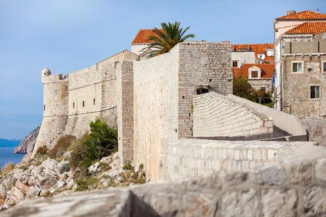 Les murailles de Dubrovnik