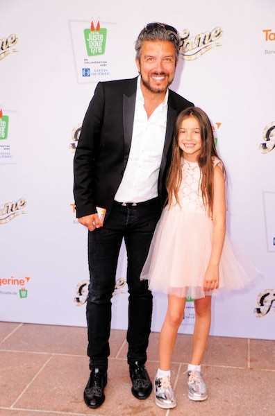 Jean Airoldi et sa fille