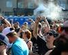 Exemple de foule à jeun lors du spectacle de Loud, Koriass et Naya Ali, le 13 juillet au FEQ. PASCAL HUOT / JOURNAL DE QUEBEC / AGENCE QMI