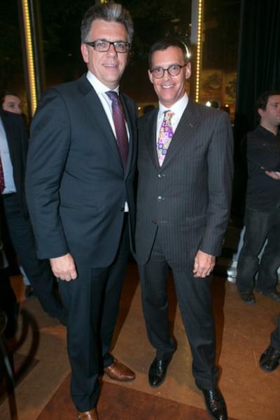 Donald Lizotte et Serge Sasseville.