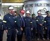 La 10 millionième tonne d'aluminium a été coulée par le ministre des Ressources naturelles, Pierre Arcand.