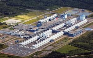L'usine de Deschambault