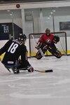 Billy Bridges, membre de l'équipe de hockey-luge canadienne.