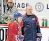 Michel Therrien a été le premier entraîneur en chef de Brendan Gallagher dans la LNH.