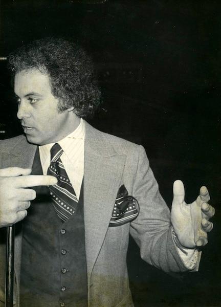 René Angelil 1984 PHOTO LES ARCHIVES / LE JOURNAL DE MONTREAL