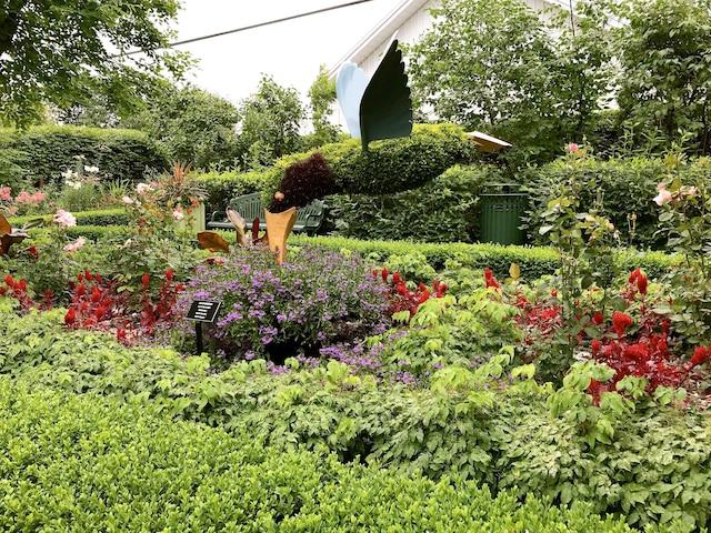 Les jardins de la Maison Antoine-Lacombe