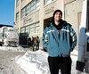Maxime Fournier, 25 ans, vit dans la rue par périodes depuis l'âge de 18 ans. Il ne craint pas la vague de froid à venir puisqu'il a accès à une chambre à la mission Old Brewery, à Montréal.