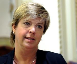 La présidente de l'Ordre des infirmiers et infirmières du Québec, Lucie Tremblay.