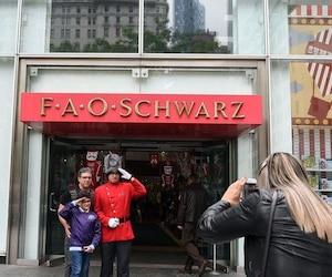 FAO Schwarz est un détaillant qui a été contraint de fermer son grand magasin situé au centre-ville de New York en 2015 après avoir éprouvé des problèmes de liquidités. Depuis, FAO Schwarz a ouvert des boutiques dans les grands magasins américains Macy's, Saks Fifth Avenue et Bloomingdale.