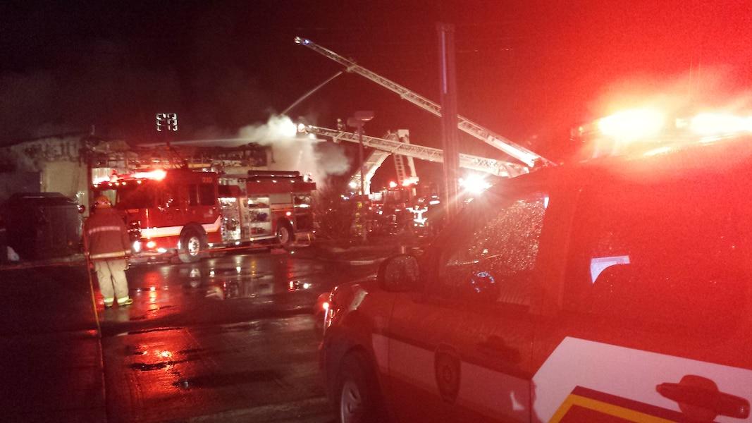 Incendie majeur dans un garage de saint augustin jdq for Garage boulanger saint augustin