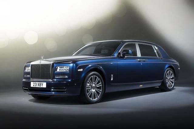 Une Rolls-Royce Phantom telle que saisie par la justice américaine.
