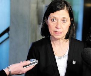 <b>Danielle McCann</b><br /><i>Ministre de la Santé du Québec</i>