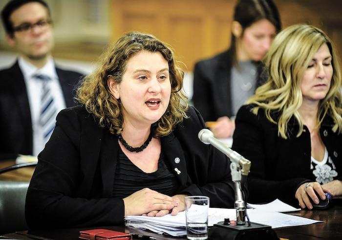 Catherine Harel-Bourdon, présidente de la CSDM