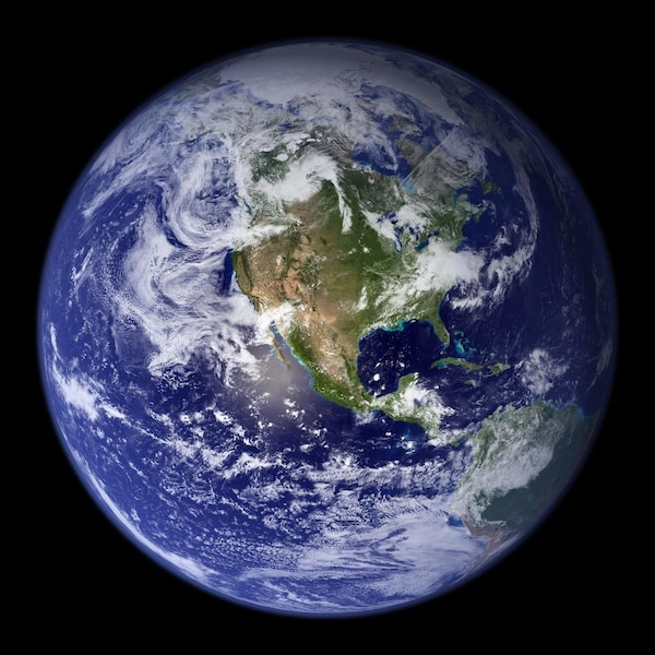 Bloc Planète terre atmosphère nasa earth
