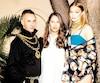 Jeremy Scott, Ann-Sofie Johansson et Gigi Hadid