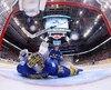 À l'autre bout de la patinoire, Lundqvist a cédé à trois reprises sur 31 tirs.