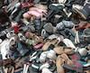 Chaussures usagées