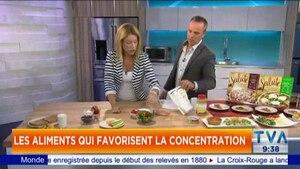Les aliments qui favorisent la concentration