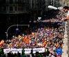 Des milliers d'opposants à l'indépendance ont pris d'assaut les rues de Barcelone.